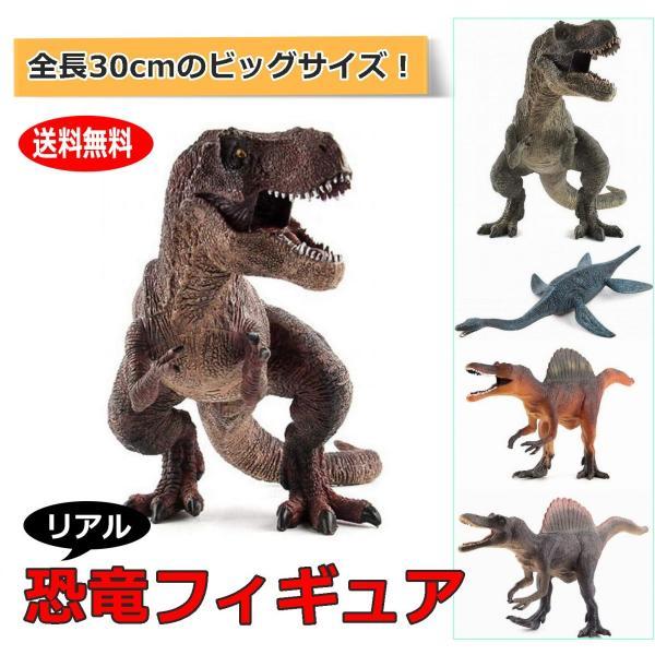 恐竜フィギュアリアル模型30cm玩具大型ジャンボ迫力PVC製大きい大サイズ