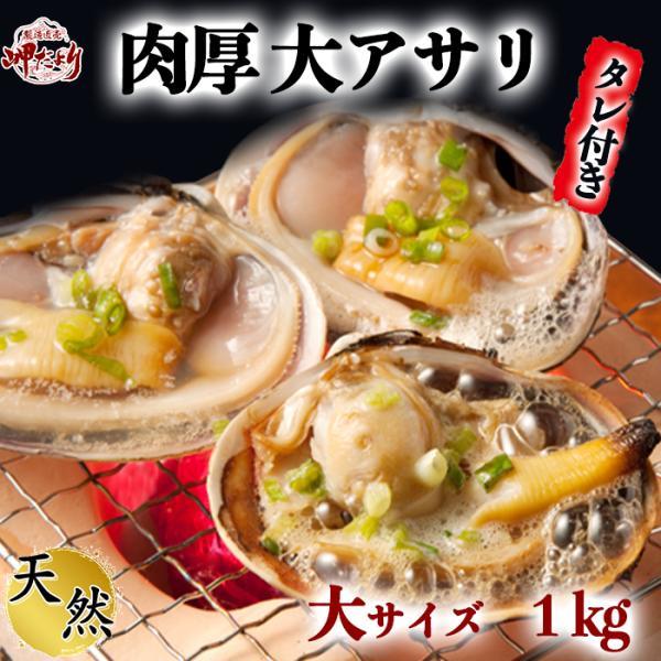 大あさり片貝(大アサリ)8~10片貝前後 大サイズ ひと口では食べられない大あさり 【愛知県産】