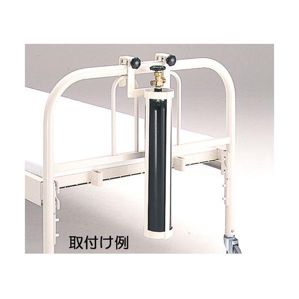 【送料無料】ベッドサイド酸素ボンベホルダー HP3070【お取り寄せ】【郵便NG】