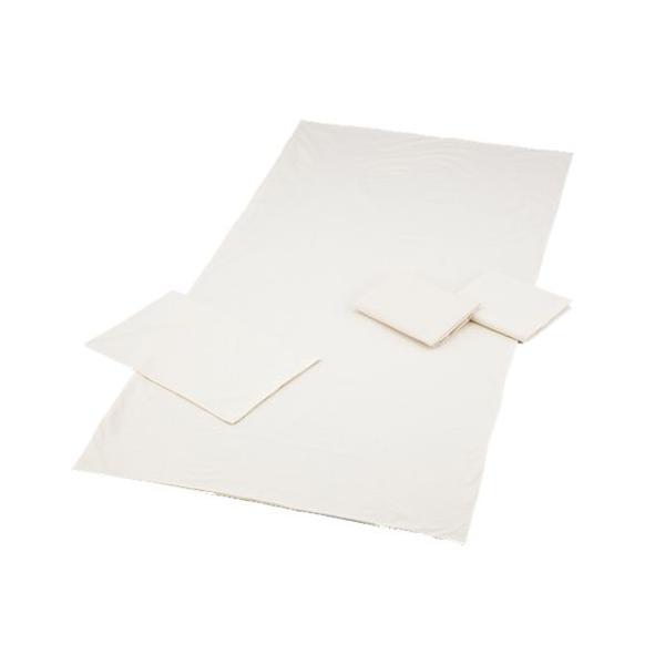 【送料無料】ダニ防止用カバー 有機高密度織 敷きシーツ【お取り寄せ】