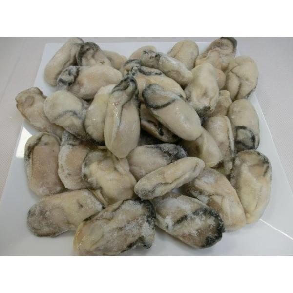 広島産 剥きカキ Lサイズ 1kg 35個から45個入 ひろしま 牡蠣 かき フライ 揚げ物 鍋 安 国産 こくさん 6401902099|fuji-s|02