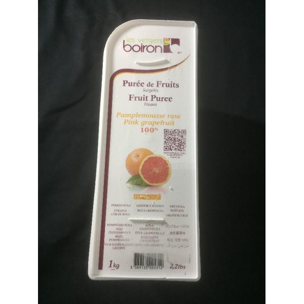 業務用 冷凍 ピューレ パンプルムースロゼ 1kg グレープフルーツ フルーツ デザート スイーツ 仕入れ