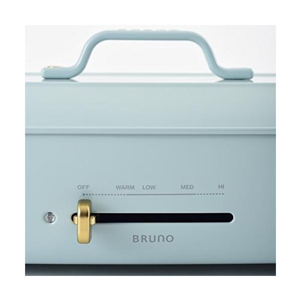BRUNO ホットプレートグランデサイズ (ブルーグレー)|fujibeni|04