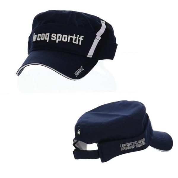 le coq sportif ルコック ワークキャップ/サンバイザー 2wayタイプ QGBMJC01 帽子「メール便不可」「あすつく対応」|fujico|04