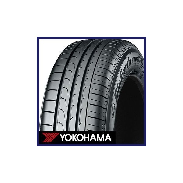 YOKOHAMA ヨコハマ ブルーアース RV-02CK 165/65R14 79S タイヤ単品1本価格【2本以上で送料無料(1本のみのご注文は送料1,100円)】