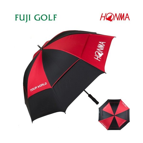 HONMA GOLF 本間ゴルフ 晴雨兼用 UVカット ダブルキャノピー(二重構造)パラソル ゴルフ傘 PA1702 日傘|fujigolf-kyoto