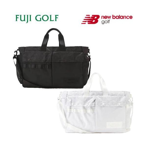 new balance golf ニューバランスゴルフ バスケットクロス×リップストップ 保温保冷ポケット付き ボストンバッグ UNISEX SPORT 012-1281001 2021年モデル