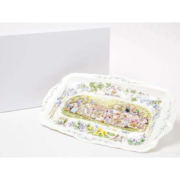 ロイヤルドルトンブランベリーヘッジザ・ピクニックサンドイッチトレイ/お茶のふじい・藤井茶舗