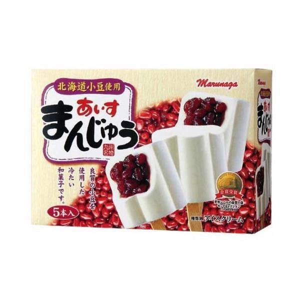 丸永製菓あいすまんじゅう5本入×6ボックス
