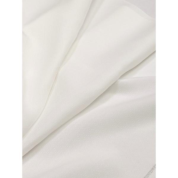 【切売します】室町あさみの未来襦袢 流砂 正絹100% 10cm単位 マスク製作の材料にも|fujikobo-yshop|02