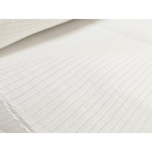 【切売します】小千谷長襦袢 横絽白 難有りなのでお得品 10cm単位  マスクの製作にも|fujikobo-yshop|06