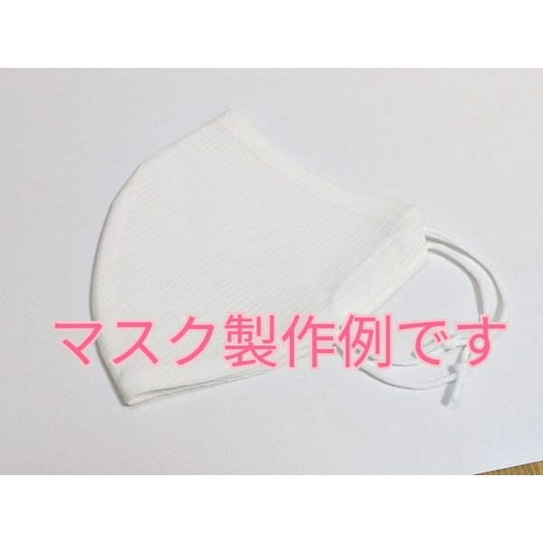 【切売します】小千谷長襦袢 横絽白 難有りなのでお得品 10cm単位  マスクの製作にも|fujikobo-yshop|08