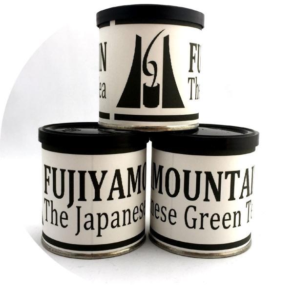 粉末茶 富士山パウダー緑茶 フジヤマウンテン FUJIYAMOUNTAIN 50g缶 富士山ブランド 粉末茶 パウダー お茶 煎茶 緑茶 茶葉|fujikubotaen|02