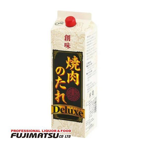 【業務用】創味食品 焼肉のたれ デラックス 2kg(2000g) (Deluxe 焼肉 タレ 漬けだれ もみだれ 調味料 炒め物)※6パックまで1個口で発送可能