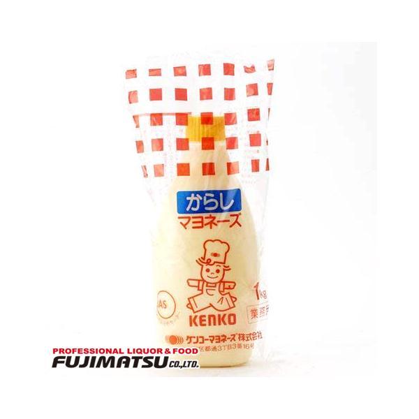 【*訳アリ 賞味期限 2021/8/17】ケンコー からしマヨネーズ 1kg 業務用