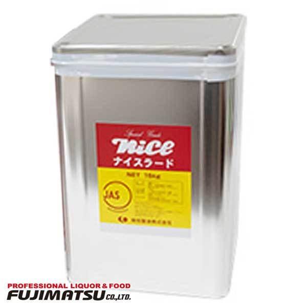植田製油 ナイスラード 15kg 業務用 一斗缶