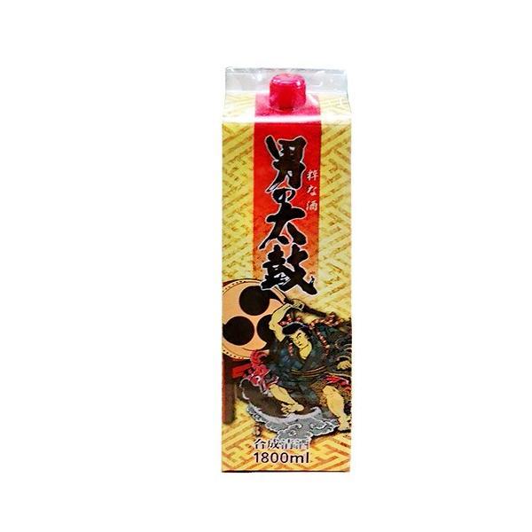 【料理酒】男の太鼓 パック 1.8L (1800ml) ※6本まで1個口にて発送可能