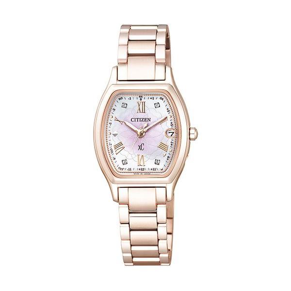 腕時計 シチズン クロスシー xC ES9354-51W エコ・ドライブ電波時計 八重桜 限定モデル ティタニアライン ハッピーフライト