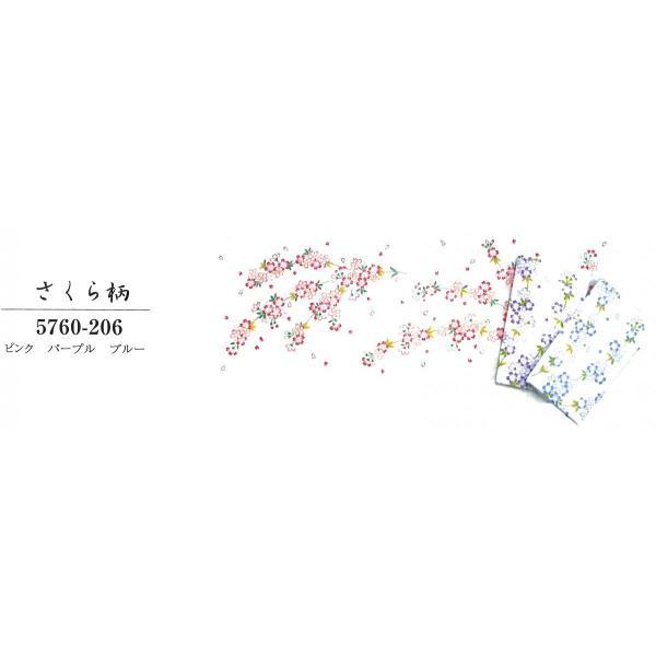 綿ガーゼ手ぬぐい◇白地◇さくら柄◇ピンク・パープル・ブルー◇綿100%◇日本製|fujinitt