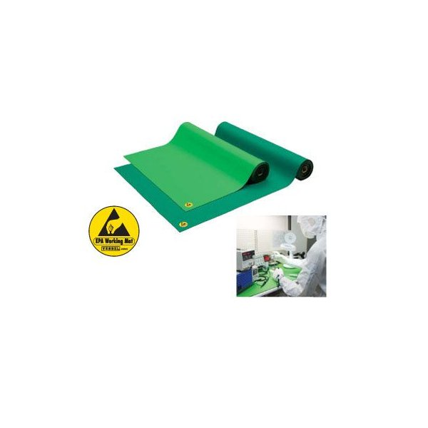 VESSEL (ベッセル) SG-100 導電性ゴムマット グリーン fujino-netshop