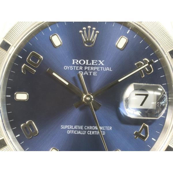 オーバーホール 仕上げ済 ROLEX ロレックス 15210 メンズ オイスター パーペチャルデイト P番 2000年 (質屋 藤千商店) fujisen78 02