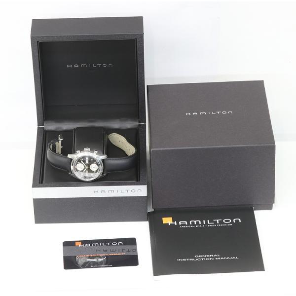 HAMILTON ハミルトン カーキ フィールド クロノグラフ H714660 メンズ オートマチック  (質屋 藤千商店)|fujisen78|10