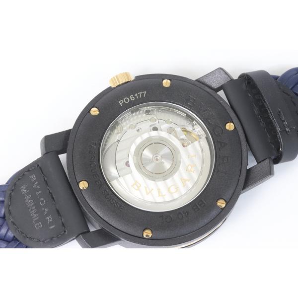 BVLGARI ブルガリ カーボンゴールド BB40CL 自動巻き メンズ ウォッチ  (質屋 藤千商店) fujisen78 04