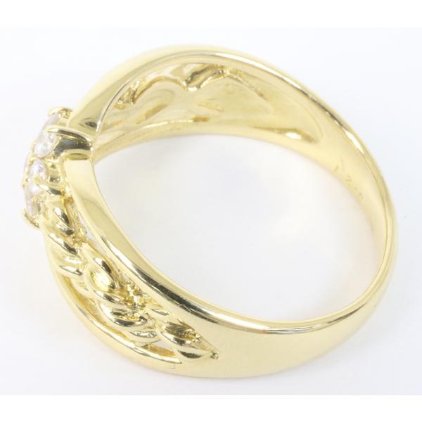 セイコージュエリー ダイヤモンド デザイン リング 18金 (K18)サイズ12.5 0.21ct 指輪 (質屋 藤千商店)|fujisen78|04