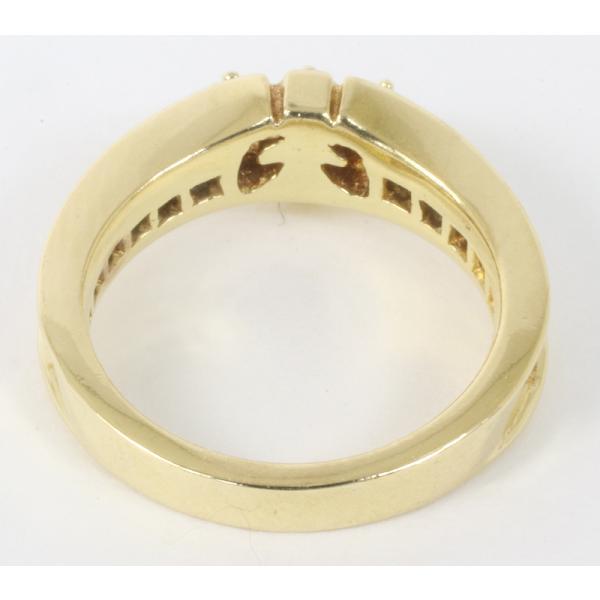 ジャスティンデイビス チェルシーバンドリング ダイヤモンド K18YG サイズ5号  指輪 (質屋 藤千商店)|fujisen78|05