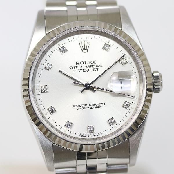 ROLEX ロレックス メンズ デイトジャスト 16234G S番 1993年 (質屋 藤千商店)|fujisen78