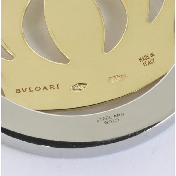 BVLGARI ブルガリ トンド クラウン ペンダントトップ 750(K18・SS) (質屋 藤千商店)|fujisen78|06