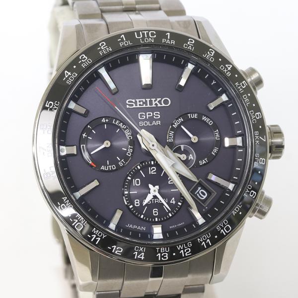 セイコー アストロン SBXC003 GPSソーラー 電波 時計 チタン 5X53-0AB0 (質屋藤千商店) fujisen78