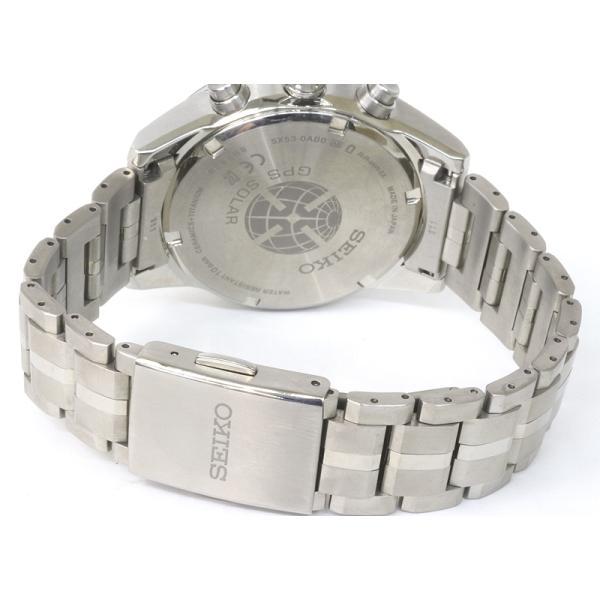 セイコー アストロン SBXC003 GPSソーラー 電波 時計 チタン 5X53-0AB0 (質屋藤千商店) fujisen78 07
