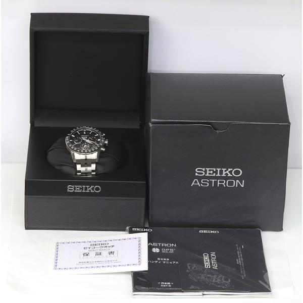 セイコー アストロン SBXC003 GPSソーラー 電波 時計 チタン 5X53-0AB0 (質屋藤千商店) fujisen78 08