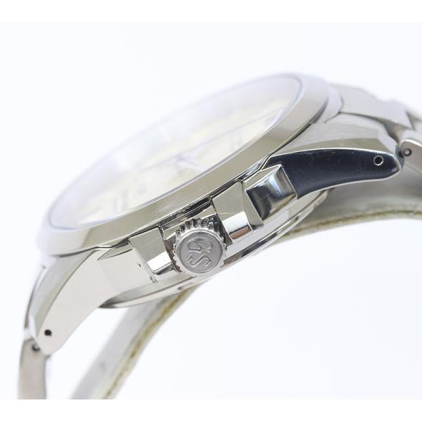 Grand Seiko グランドセイコー パワーリザーブ チタン SBGA079 9R65-0BG0 スプリングドライブ メンズ (質屋藤千商店) fujisen78 03