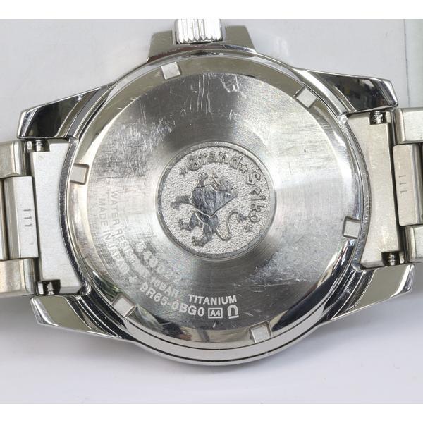 Grand Seiko グランドセイコー パワーリザーブ チタン SBGA079 9R65-0BG0 スプリングドライブ メンズ (質屋藤千商店) fujisen78 04
