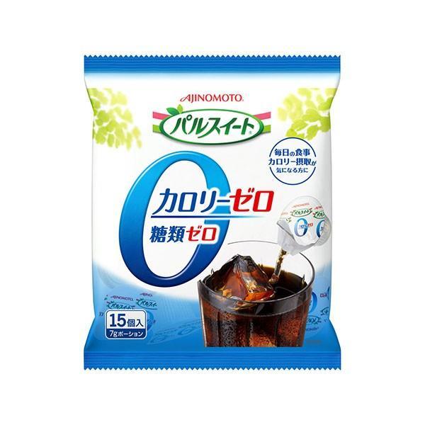 味の素 パルスイート カロリーゼロ・液体タイプ ポーション15個×20袋(1ケース)(KT)