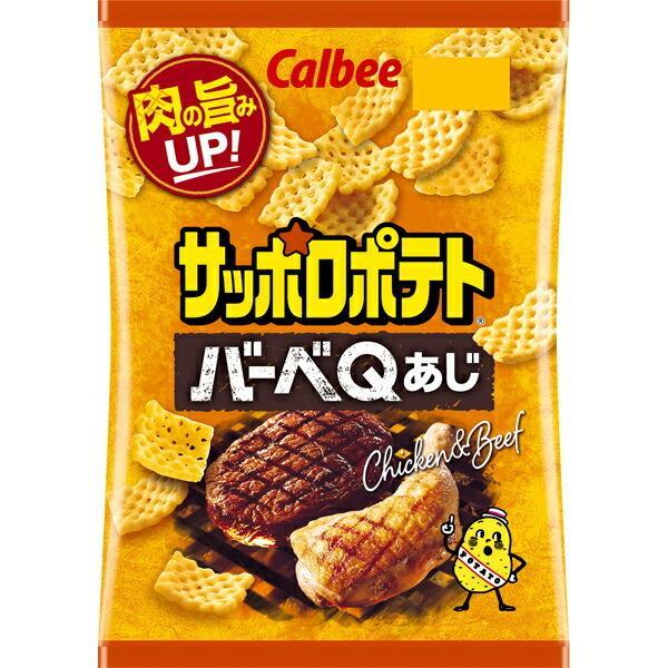 カルビー サッポロポテト バーベQあじ 80g×12個入り (1ケース) (SB)