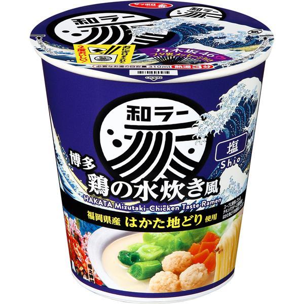 サッポロ一番 和ラー 博多 鶏の水炊き風 73g×12個入り (1ケース) (KK)