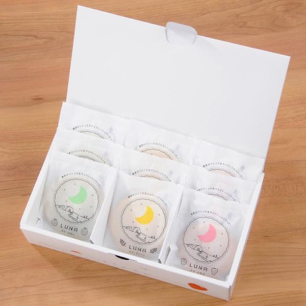 チョコレート 生チョコしっとりクッキー LUNA(ルナ) 3種9個入り ギフト プチギフト お取り寄せ ホワイトデー|fukasakunouen|06