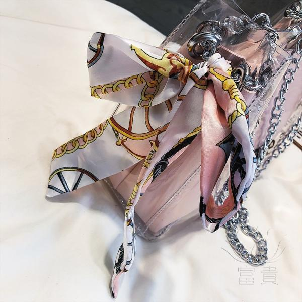 カバン 鞄 レディースショルダーバッグ バッグインバッグ  クリアバッグ 2WAY 通勤  斜め掛け 防水 巾着 アルファベット ビニールインバッグ|fuki-fashion|12