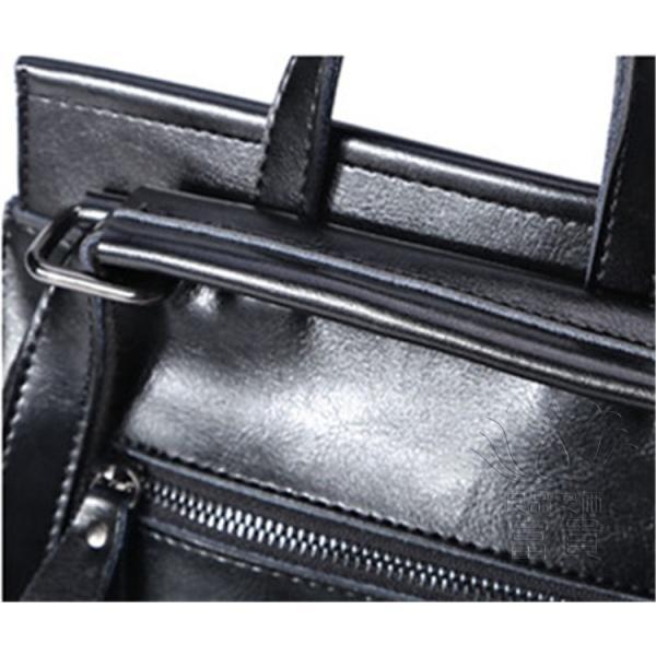 カバン 鞄 本革 ショルダーバック バックパック リュックバック グレー 4色展開 2WAY ipad/mini 対応 肩掛け 斜め掛け 無地 通学 旅行|fuki-fashion|11