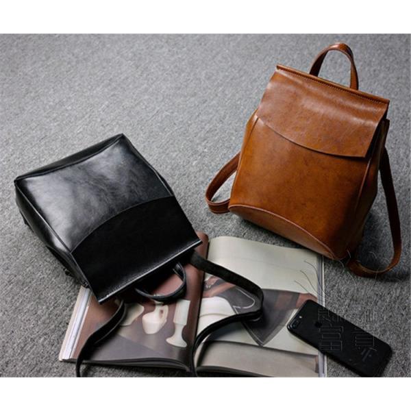 カバン 鞄 本革 ショルダーバック バックパック リュックバック グレー 4色展開 2WAY ipad/mini 対応 肩掛け 斜め掛け 無地 通学 旅行|fuki-fashion|16