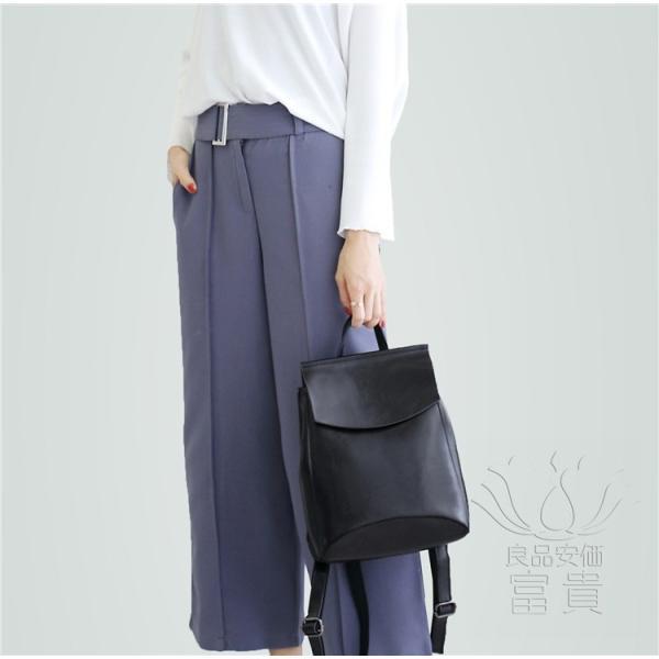 カバン 鞄 本革 ショルダーバック バックパック リュックバック グレー 4色展開 2WAY ipad/mini 対応 肩掛け 斜め掛け 無地 通学 旅行|fuki-fashion|03