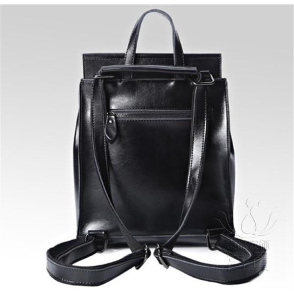 カバン 鞄 本革 ショルダーバック バックパック リュックバック グレー 4色展開 2WAY ipad/mini 対応 肩掛け 斜め掛け 無地 通学 旅行|fuki-fashion|09