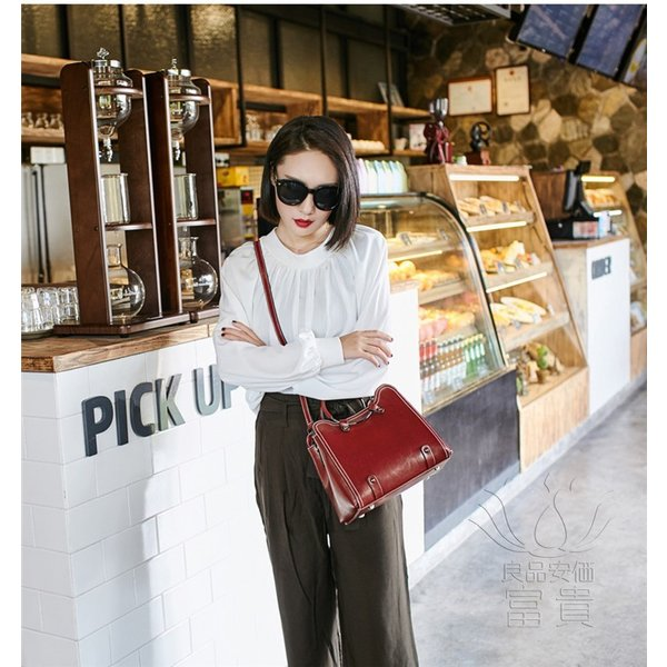 カバン 鞄 本革 ショルダーバック ハンドバック コンパクト マザーズバック 手持ち 肩掛け 2WAY 無地 通勤 二次会 母の日 オシャレ カジュアル|fuki-fashion|04