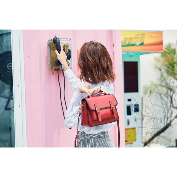 カバン 鞄 本革 ショルダーバック ダレスバッグ レトロ風 ミニバック 無地 2WAY 手持ち 肩掛け 通勤 二次会 オシャレ カジュアル|fuki-fashion|11