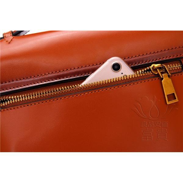 カバン 鞄 本革 ショルダーバック ダレスバッグ レトロ風 ミニバック 無地 2WAY 手持ち 肩掛け 通勤 二次会 オシャレ カジュアル|fuki-fashion|16