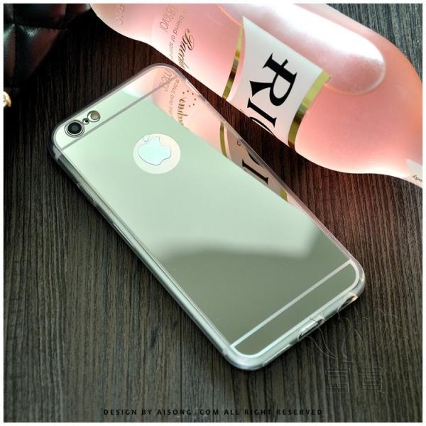 iPhoneケース アイフォンケース IPHONE8ケース IPHONE7ケース アイフォン8 アイフォン7 ケース メタル塗装 鏡面仕上げ 鏡として使える ハードケース fuki-fashion 02