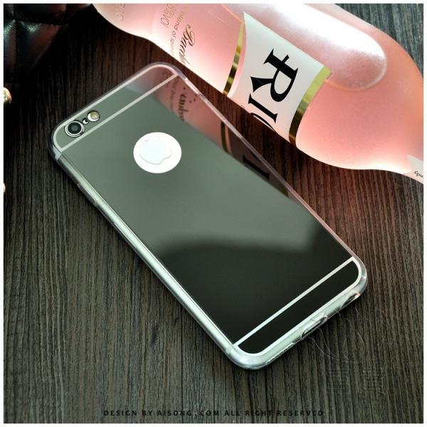 iPhoneケース アイフォンケース IPHONE8ケース IPHONE7ケース アイフォン8 アイフォン7 ケース メタル塗装 鏡面仕上げ 鏡として使える ハードケース fuki-fashion 03